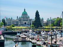 Britisch-Columbia-Parlaments-Gebäude Lizenzfreies Stockbild