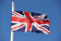 Britisch Flag Royalty Free Stock Photo