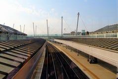 Britische Bahnhöfe Stockfoto