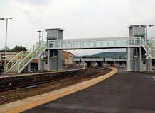 Britische Bahnhöfe Stockfotografie