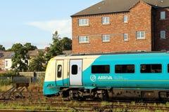Britische Bahnhöfe Stockbild