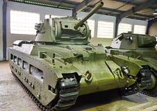 Britische Behälter Infanterie M II CS Matilda III stockfotos