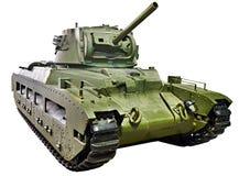 Britische Behälter Infanterie M II CS Matilda III lokalisiert lizenzfreie stockfotos