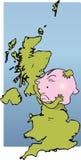 BRITISCHE Einsparungen Stockfotos