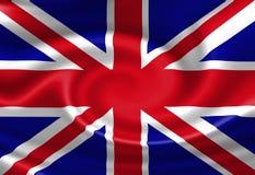BRITISCHE Flagge Stockbild