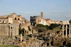 Britische Foren in Rom Stockbilder
