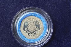 Britische Münze Lizenzfreies Stockbild