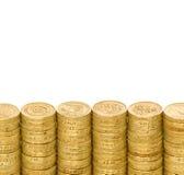 Britische Münzen Lizenzfreie Stockfotografie