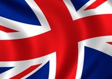 BRITISCHE Markierungsfahne Stockfotos