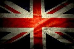 Britische Markierungsfahne Lizenzfreies Stockfoto