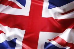 Britische Markierungsfahne Stockbilder
