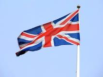 Britische Markierungsfahne Stockfotografie