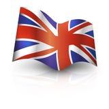 BRITISCHE Markierungsfahne Lizenzfreie Stockbilder