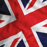Britische Markierungsfahne Stockbild