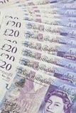 Britische Pfund Sterling- Lizenzfreies Stockfoto