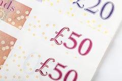 Britische Pfunde Lizenzfreie Stockbilder