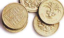 Britische Pfunde Stockfotos
