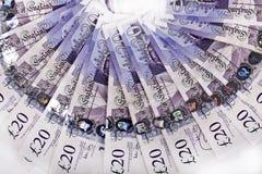Britische Pfunde Anmerkungen, Stockfotografie