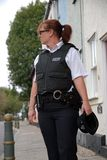 Britische Polizeibeamte Stockfoto