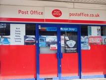 BRITISCHE Postniederlassung stockbilder
