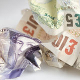 Britische Pounds Lizenzfreie Stockbilder