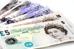 Britische Pounds. stockfotografie