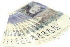 Britische Pounds stockfotos