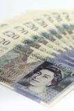 Britische Pounds lizenzfreie stockfotografie