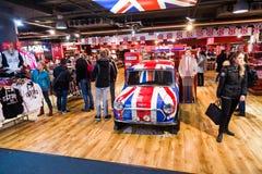 Britische Produkte Stockfotografie