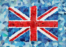 BRITISCHE Staatsflagge Lizenzfreie Stockfotografie