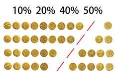BRITISCHE Steuersätze 2012 - finanziell, Buchführungswesen stockbilder