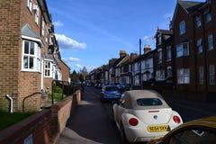 Britische Straße stockbilder