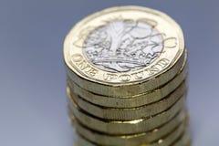 Britische Währung 2017 Stockbild