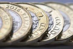 Britische Währung 2017 Stockbilder