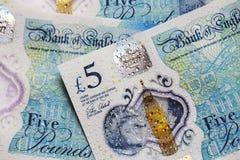 Britische Währung 2017 Stockfotos