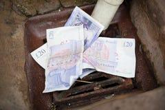 Britische Währung Stockbild