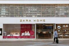 BRITISCHE Zara Home Stockfoto