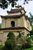 Britische Zitadelle von Thang lang Stockbild
