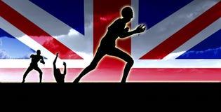 Britische Zombies Lizenzfreies Stockfoto
