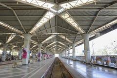 Britischer Bahnhof Lizenzfreies Stockbild