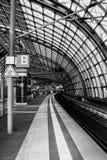 Britischer Bahnhof Stockfotos