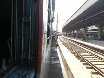 Britischer Bahnhof Stockbilder
