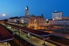 Britischer Bahnhof Lizenzfreies Stockfoto