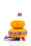 Britischer Käse Lizenzfreies Stockbild
