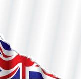 Britischer Markierungsfahnenhintergrund Stockbilder