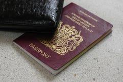 Britischer Paß Lizenzfreie Stockbilder
