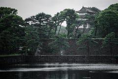 Britischer Palast, Tokyo, Japan Lizenzfreie Stockfotos
