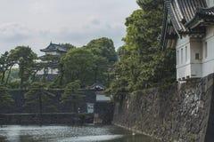 Britischer Palast, Tokyo, Japan Lizenzfreies Stockfoto