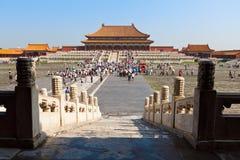 Britischer Palast von China. Peking. Lizenzfreies Stockfoto