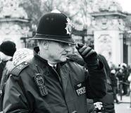 Britischer Polizist Lizenzfreie Stockfotografie